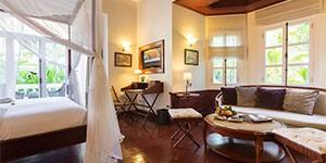 Hotel lujo Luangsay Residence en Laos