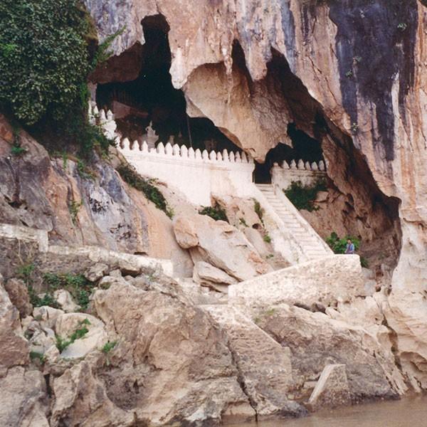 Cuevas Pak Ou en Laos
