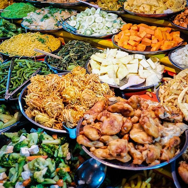 Comida tradicional de Laos