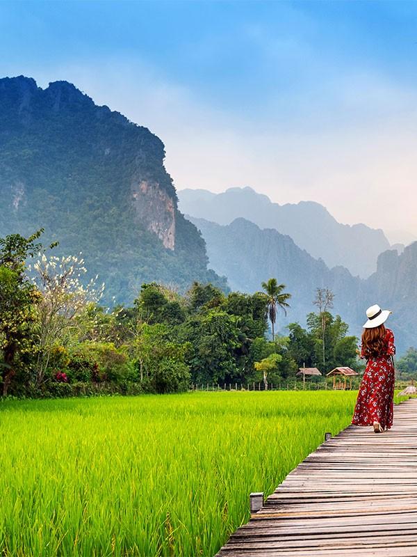 Vang Vieng, imprescindible en los viajes a Laos