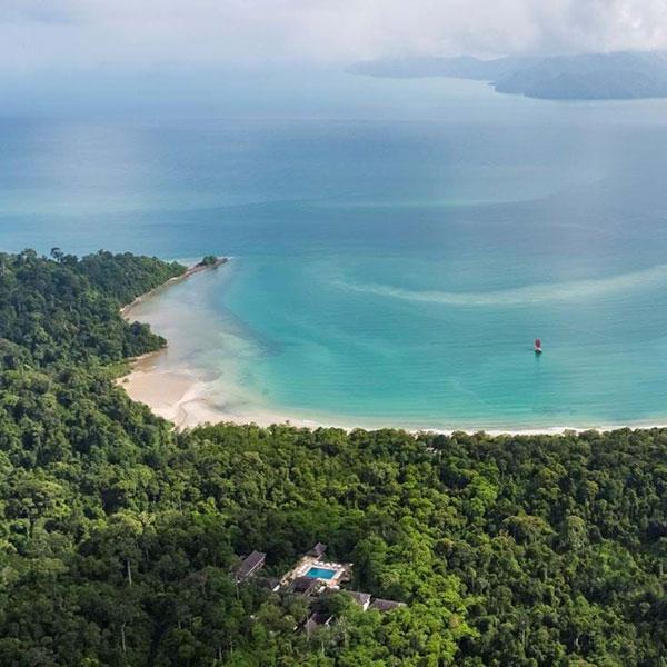 Langkawi, Malasia, destino de luna de miel