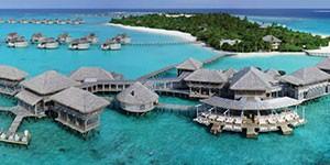Resort de lujo en Maldivas Six Senses overwater