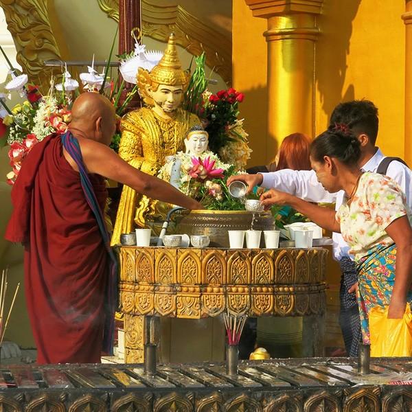 Rangún, primera parada del viaje Myanmar y Maldivas