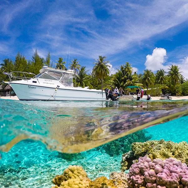 Nimamu Resort de lujo en Isla de Tikehau, Polinesia