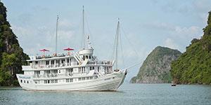 Crucero por la Bahía de Halong en Paradise Luxury
