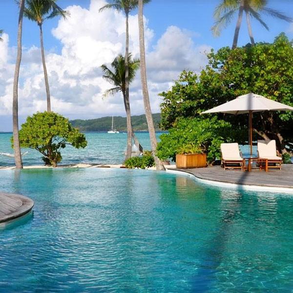 Le Taha'a isla privada en Polinesia francesa ideal luna de miel