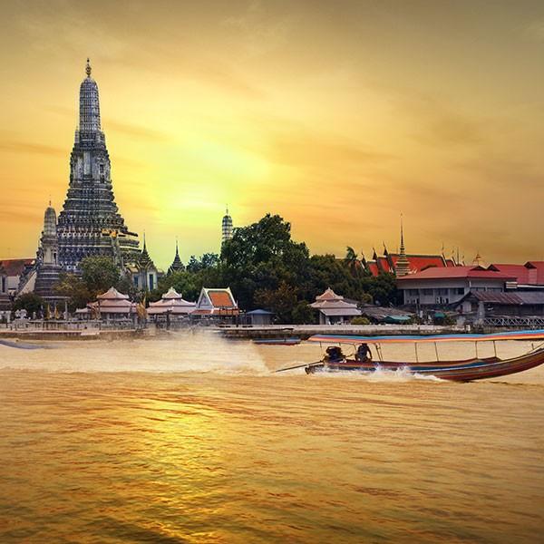 Bangkok, inicio del combinado Tailandia y Maldivas