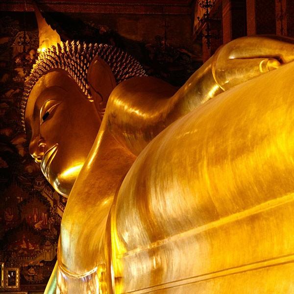 Buda de oro Bangkok, Tailandia