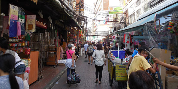 Barrio chino de Bangkok, Tailandia