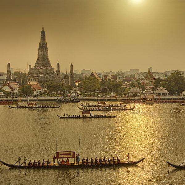 Panorámica de Bangkok, inicio del viaje combinado Tailandia Laos y Camboya