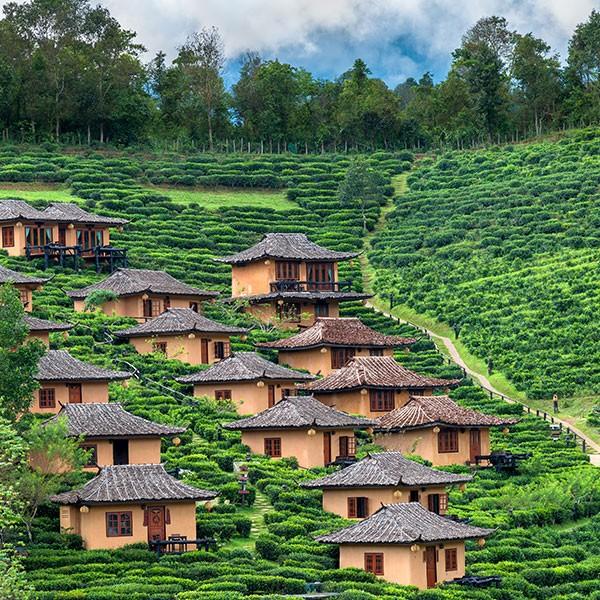 Turismo sostenible en las montañas de Pai en Tailandia