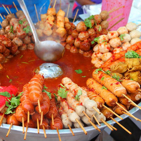 Comida tradicional de Tailandia