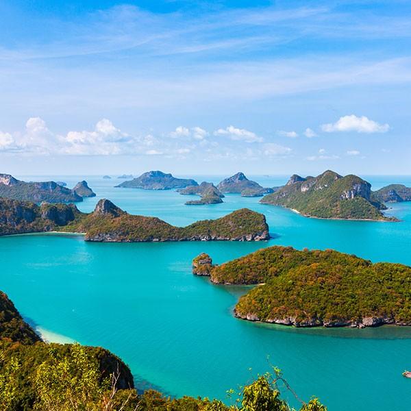 Viaje a las Islas en Tailandia