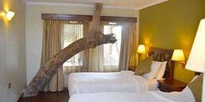 Hotel Treetops Lodge en Aberdare regimen todo incluido
