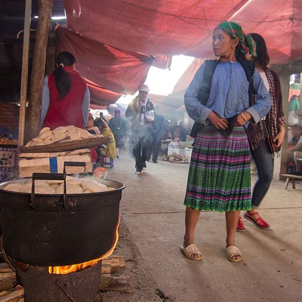 Mercado de Dong Van, Vietnam