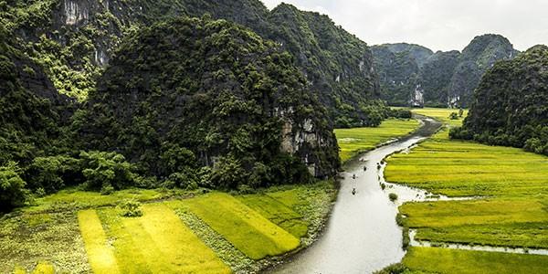 Tam Coc y el río NgoDong: Vietnam en 10 días