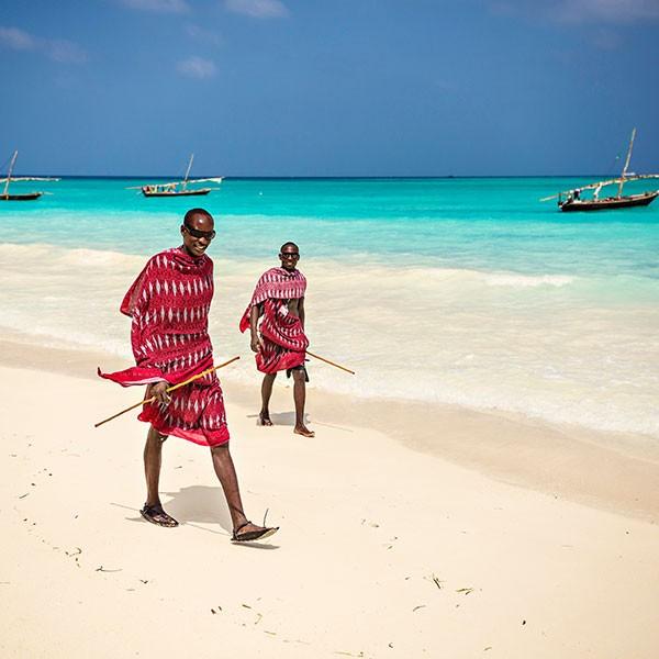 Playa en Zanzíbar