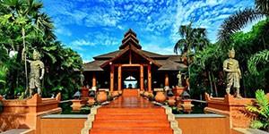 Hotel de lujo AUREUM en Bagan, Myanmar