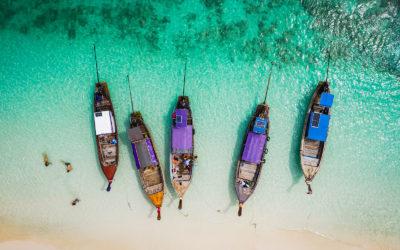 De isla en isla en Tailandia