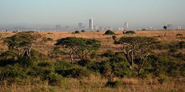 Nairobi, capital de Kenia