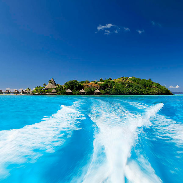 Isla privada en Bora Bora Sofitel Resort Polinesia