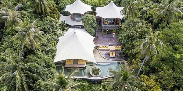 Ecoresort Soneva Kiri turismo sostenible en Tailandia