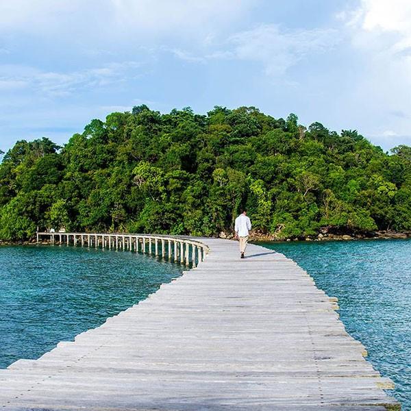 Isla privada Song Saa en la luna de miel en Camboya