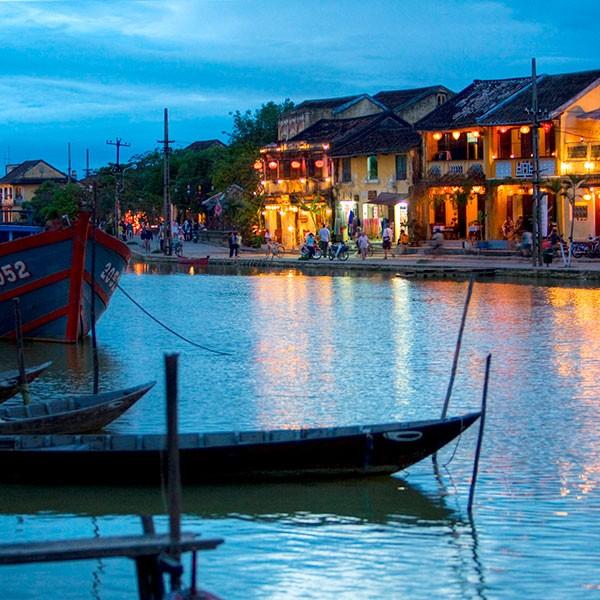Puerto de Hoi An, Vietnam