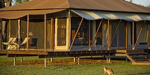 Glamping de lujo Wildman Wilderness en Kakadu