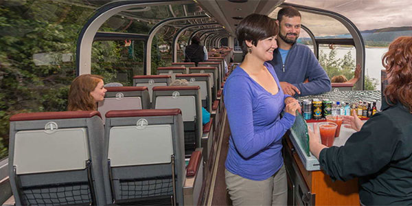 Viaje en tren Clase Goldstar Alaska Railroad