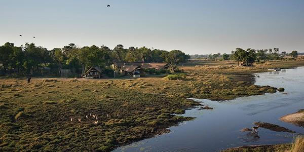 Belmond Eagle Island Lodge en Botsuana