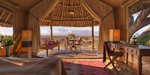 Elewana Tortilis Camp alojamiento de lujo
