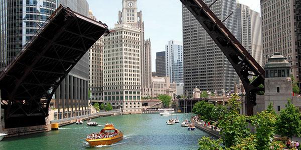 Visita a Chicago y crucero por el río