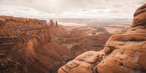 Sobrevuelo en globo de Moab