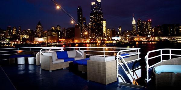 Crucero por el río Hudson en el viaje combinado Nueva York y Caribe