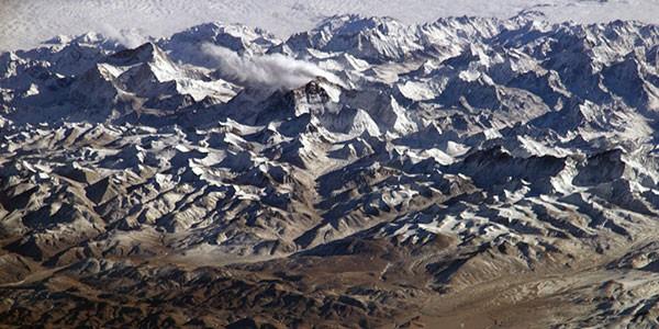 Sobrevuelo del Everest en el viaje de aventura a Nepal