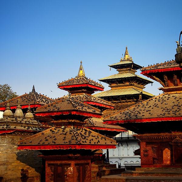 Plaza de Durbar en Katmandu
