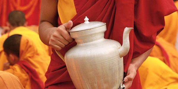 Monje budista en Nepal