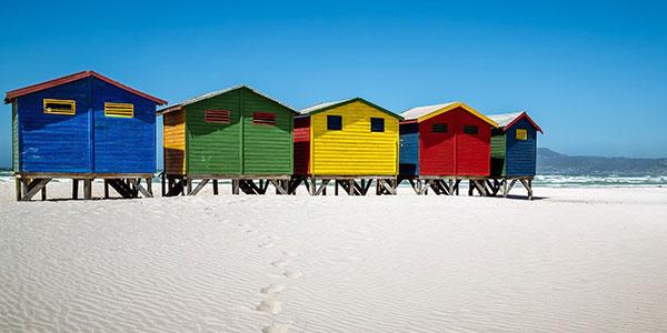 Playa en los viajes a Sudáfrica