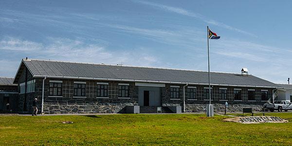 Prisión de máxima seguridad en Robben Island