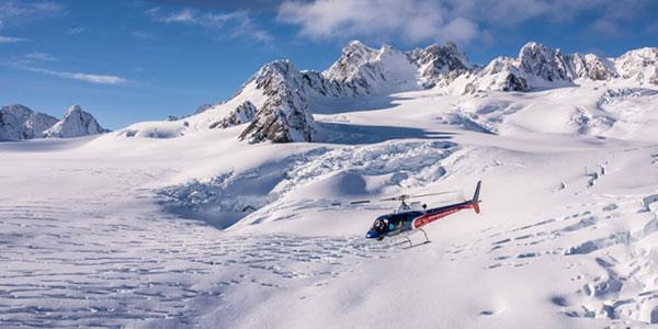 The Helicopter Line  Sobrevuelo en helicóptero del glaciar