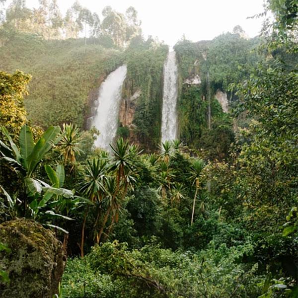 Cataratas Sipi en Uganda