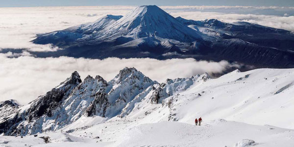 Trekking Monte Ruapehu en Tongariro Nueva Zelanda