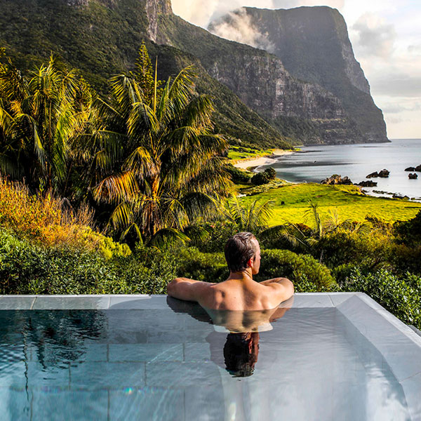 Capella Lodge Lord Howe piscina