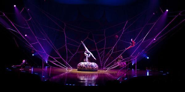 Espectáculo Circo del Sol en Las Vegas