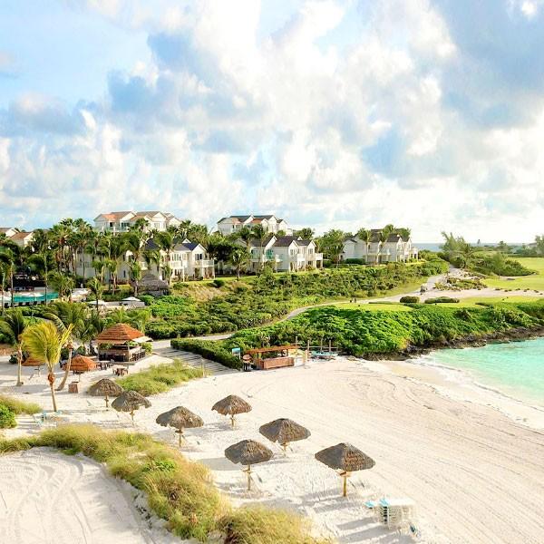 Alojamiento en Grand Isle Resort en la luna de miel en Bahamas