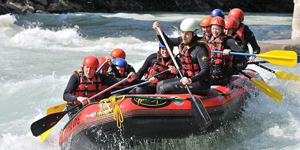Rafting en Denali