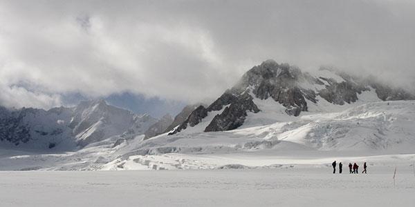 Sobrevuelo y aterrizaje Glaciar Ruth