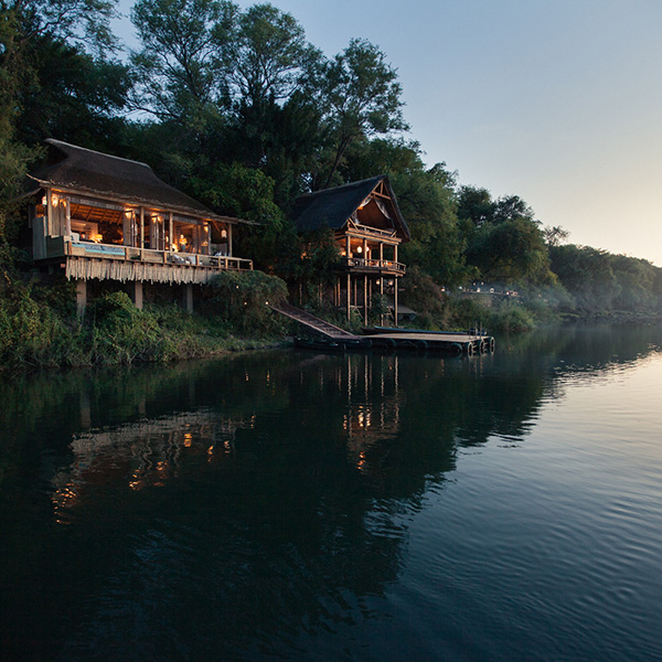 Tongabezi Lodge en Cataratas Victoria