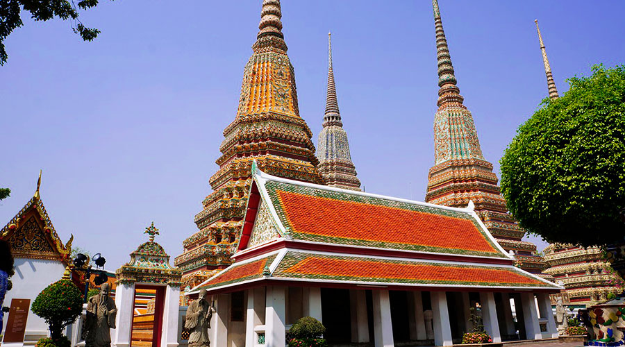 Wat Pho en Rattanakosin, Old City